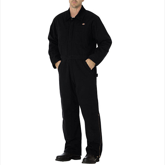 Dickies® Sanded Duck Insulated Coveralls - Tall