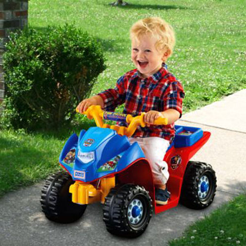 Mattel Fisher-Price Power-Wheels Nickelodeon Paw Patrol Lil' Quad