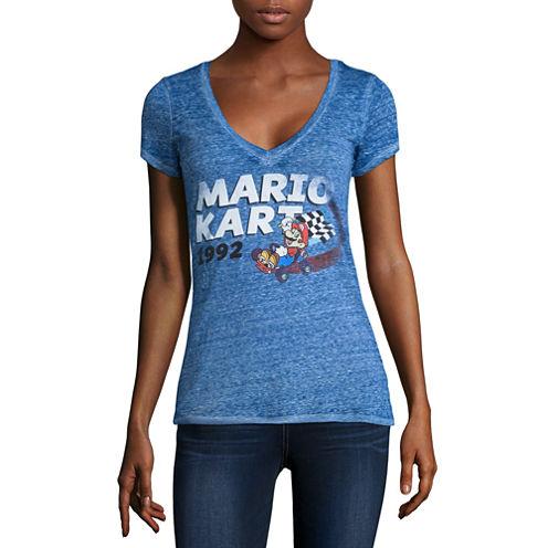 Super Mario Graphic T-Shirt- Juniors