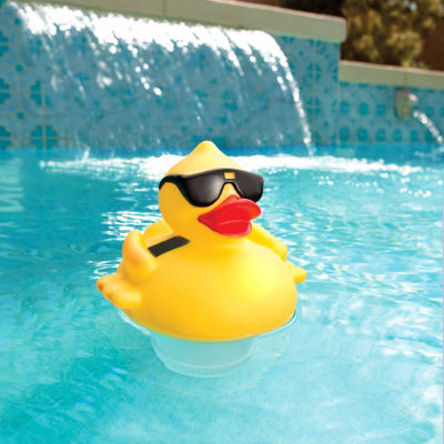 Blue Wave Derby Duck Solar Light Up Pool & Spa Chlorinator