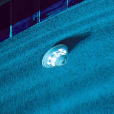 Blue Wave Hydro-Powered Return Jet LED Pool Light& Show