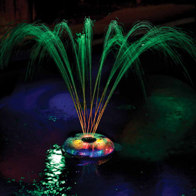 GAME Small Underwater Floating Light and Fountainfor Pools