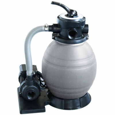 Blue Wave 12-in Sand Filter System with 1/2 HP Pump for Above Ground Pools
