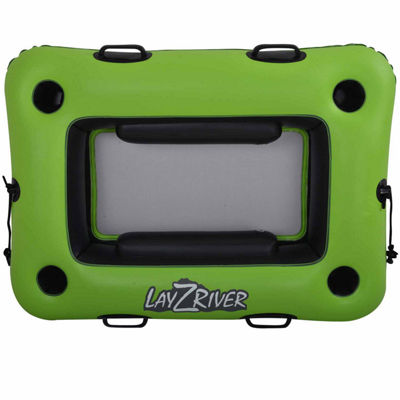 Blue Wave Sports Lay-Z-River 44-in x 33-in Inflatable Cooler Float