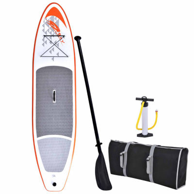 Blue Wave Sports Stingray 11-ft Inflatable Stand Up Paddleboard with Paddle & Hand Pump