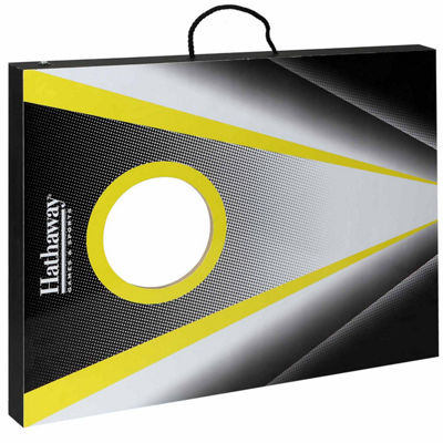 Hathaway Compact Cornhole Bean Bag Toss Game Set