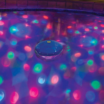 Blue Wave 5-Color Underwater Light Show Pool Light