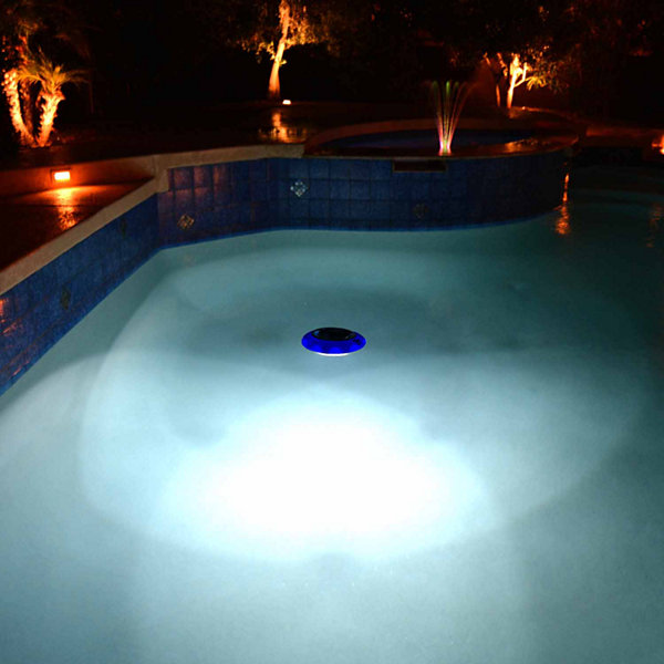 Blue Wave Evolution Floating LED Solar Pool Light