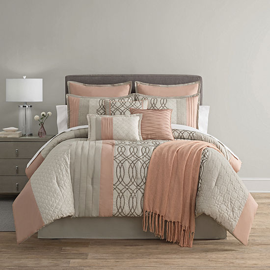 Home Expressions Nina 10-pc. Comforter Set & Accessoreies