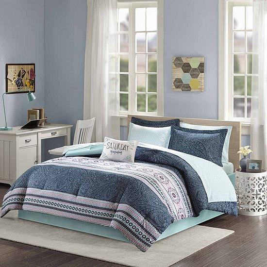 Intelligent Design Gloria Bohemian Hypoallergenic Comforter Set