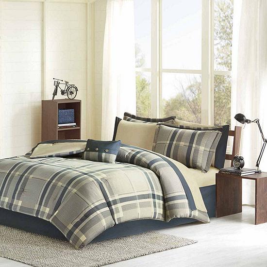 Intelligent Design Roger Hypoallergenic Comforter Set