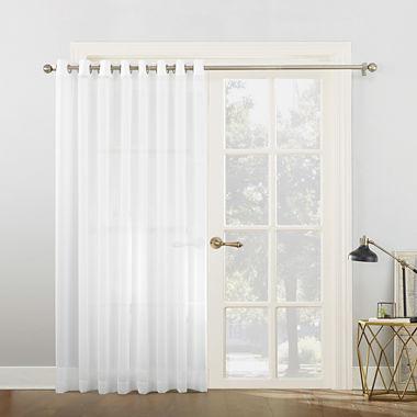 Sun Zero Emily Patio Sheer Grommet Top Patio Door Curtain Jcpenney