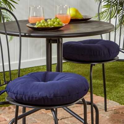 "Greendale Home Fashions 15"" Round Patio Seat Cushion"