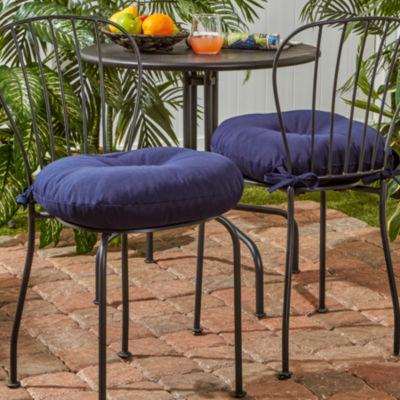 "Greendale Home Fashions 15"" Round Patio Seat Cushion"