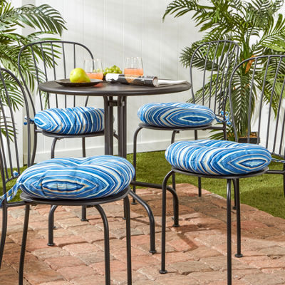 "Greendale Home Fashions 15"" Round Bistro Patio Seat Cushion"