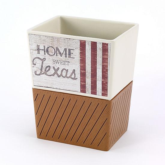 Avanti Home Sweet Texas Waste Basket