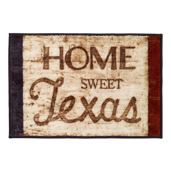 Avanti Home Sweet Texas Bath Rug
