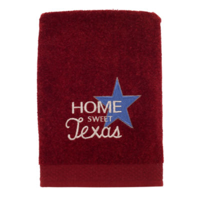 Avanti Home Sweet Texas Embellished Americana Hand Towel