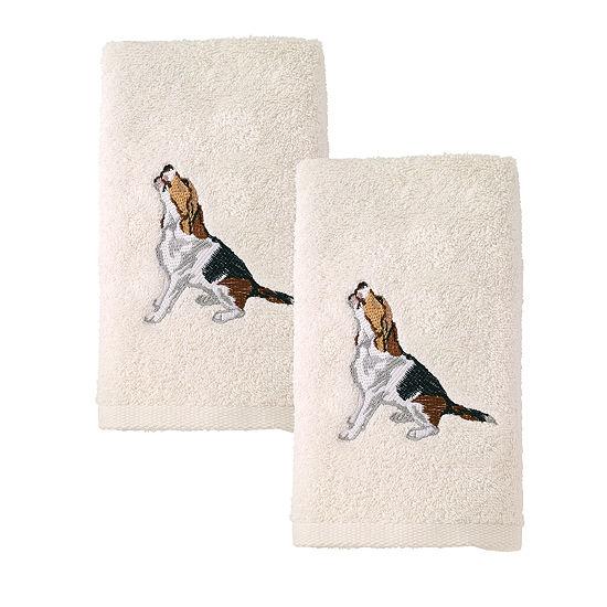 Avanti 2pk Dog Beagle 2-pc. Hand Towel