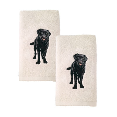 Avanti 2pk Dog Labrador Retriever 2-pc. Embroidered Hand Towel