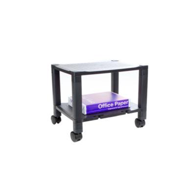 Mind Reader 2-shelf Mobile Printer Cart with Cable Management