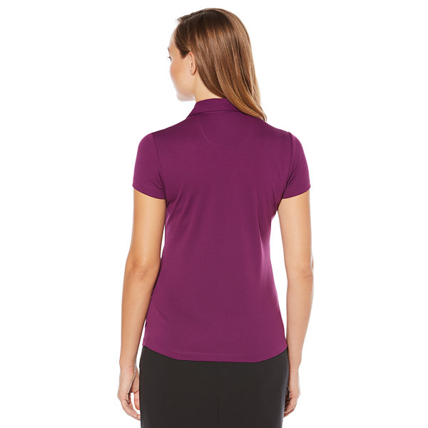 Pga tour easy care short sleeve mesh polo shirt jcpenney for Jcpenney ladies polo shirts