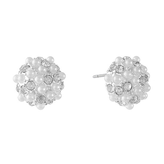 Gloria Vanderbilt 10.8mm Stud Earrings