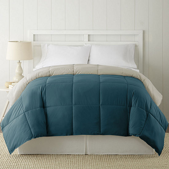 Pacific Coast Textiles Down Alternative Reversible Midweight Down Comforter