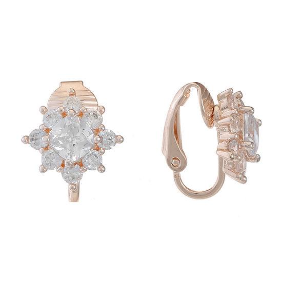 Gloria Vanderbilt 1 Pair Clip On Earrings