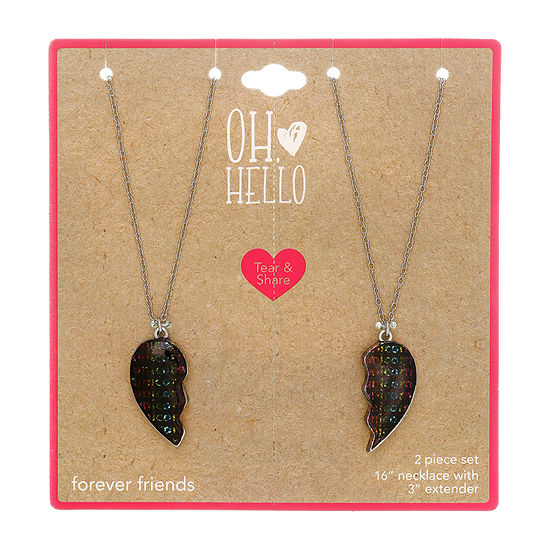 Oh Hello Heart 2-pc. 16 Inch Cable Pendant