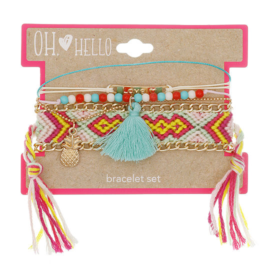 Oh Hello Oh Hello Launch Girls 4-pc. Bracelet Set