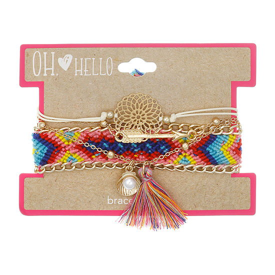 Oh Hello Oh Hello Launch Girls 4 Pc Bracelet Set