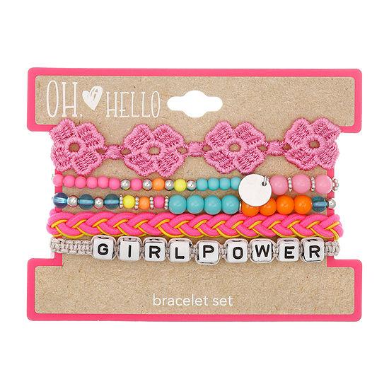 Oh Hello Oh Hello Launch Girls 5-pc. Bracelet Set