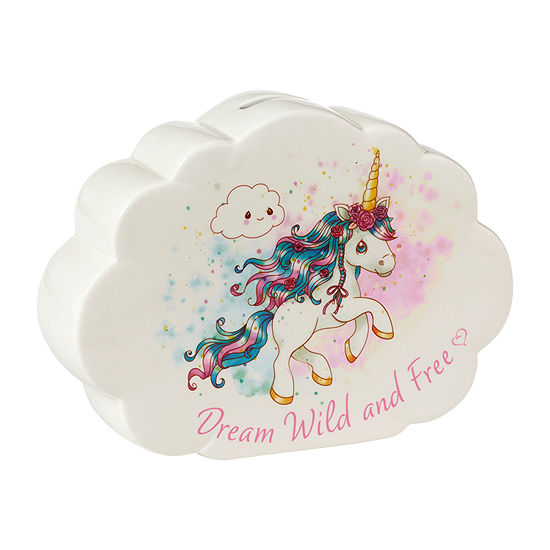 Precious Moments Unicorn Cloud Bank - Girls