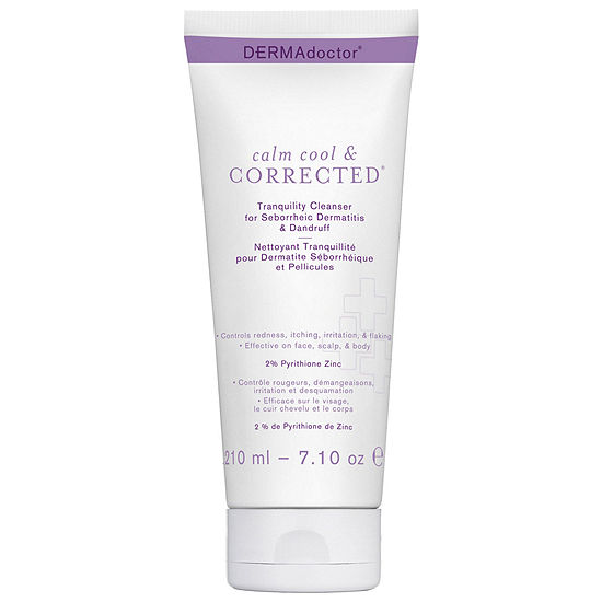 Dermadoctor Calm, Cool & Corrected® Calming Tranquility Cleanser with 2% Pyrithione Zinc for Seborrheic Dermatitis