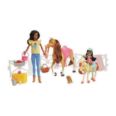 Barbie And Chelsea Dolls With Horse Playset