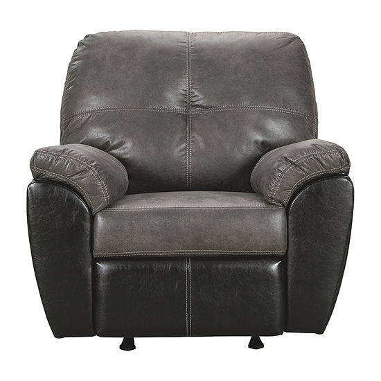 Signature Design by Ashley Gregale Pad-Arm Recliner