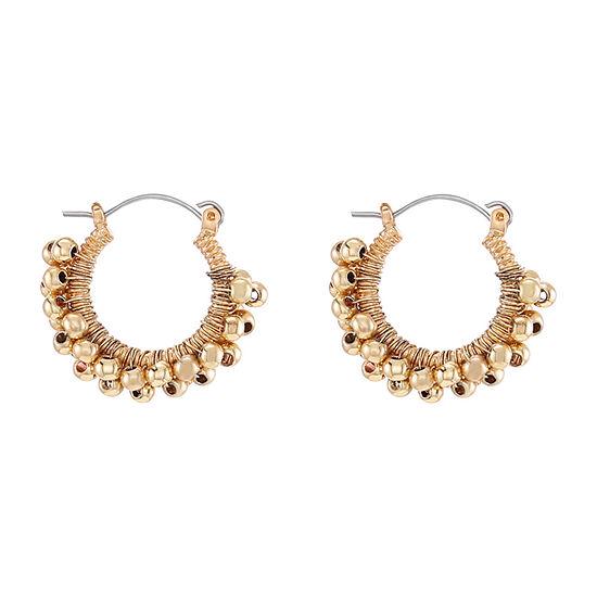 Chaps 24.1mm Hoop Earrings