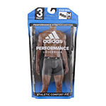 adidas 3 Pack Boxer Briefs-Big