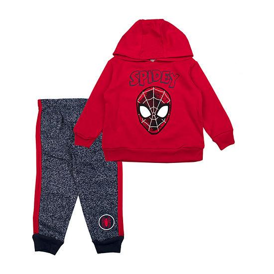 Boys Spiderman 2-pc. Pant Set Toddler
