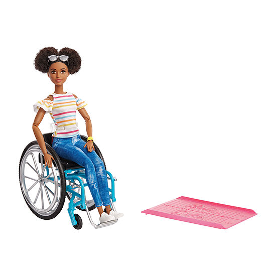 Barbie Fashionista Doll With Wheelchair Aa