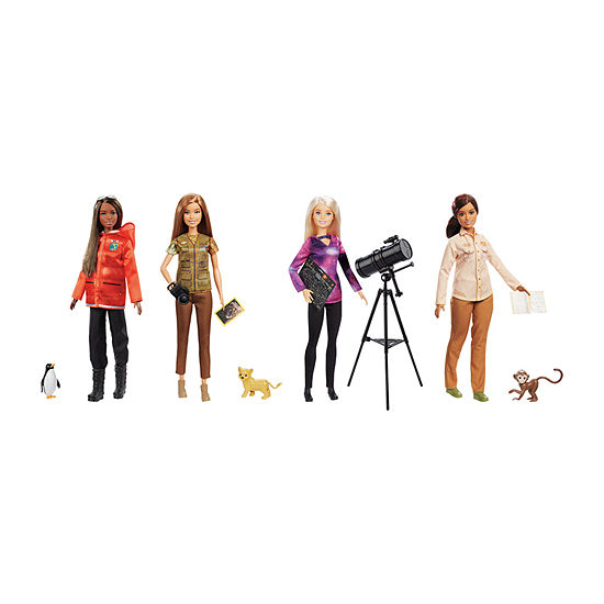 Barbie National Geographic Career Doll Assortment (1 Doll, Styles Vary)