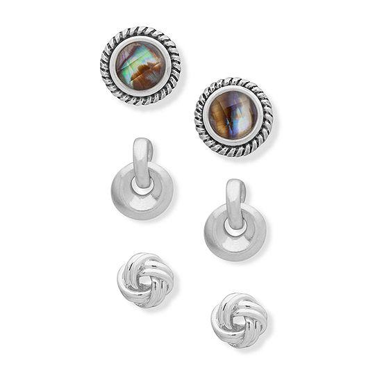 Chaps 5.1mm Stud Earrings