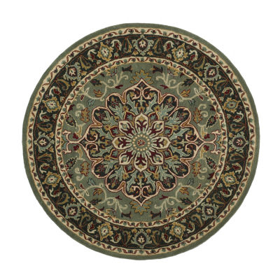 Safavieh Heritage Collection Raeburn Oriental Round Area Rug