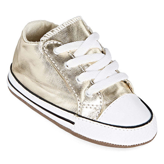 Converse Chuck Taylor All Star Girls Cribster Metallic Sneakers