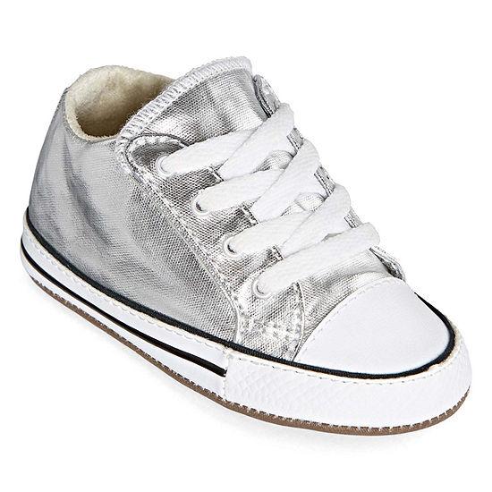 Converse Converse Chuck Taylor All Star Cribster Metallic Girls Sneakers