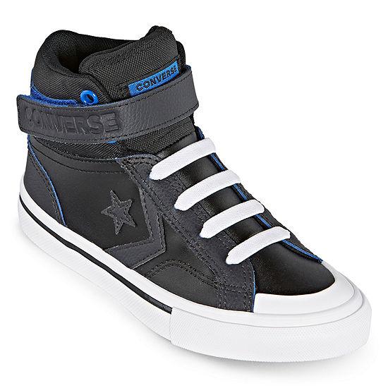 Converse Pro Blaze Strap Hi Leather Boys Sneakers