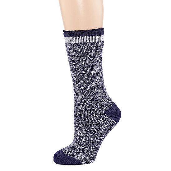 Heat Holders Originals Womens 1 Pair Crew Socks