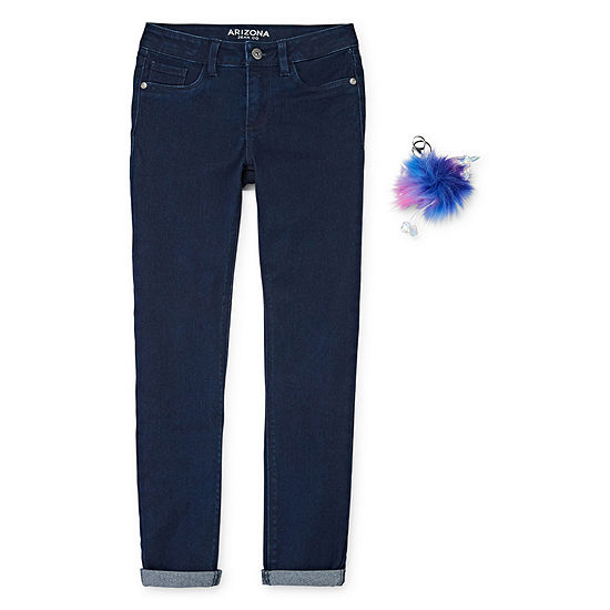 Arizona Girls Skinny Fit Jean Preschool / Big Kid