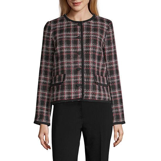 Liz Claiborne Long Sleeve Suit Jacket